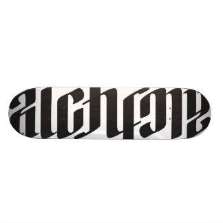Plateaux De Skate Planche à roulettes d'alchimie