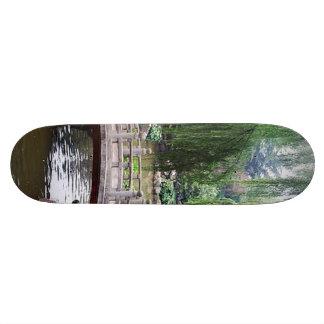 Plateaux De Skateboards Customisés Jardin asiatique 1