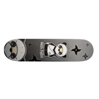 Plateaux De Skateboards Customisés Panda de Ninja ! Planche à roulettes