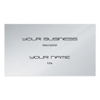 Platine exécutif de luxe de modèle de carte de vis carte de visite standard