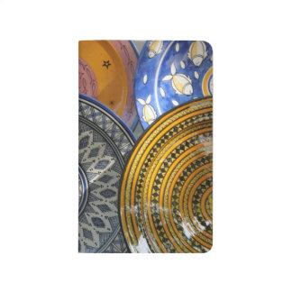 Plats en céramique carnet de poche