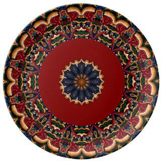 Plats la majolique/à Talavera italiens décoratifs Assiettes En Porcelaine