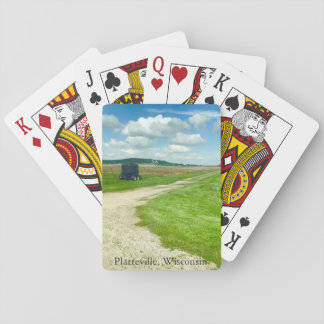 Platteville, le Wisconsin cultivant des cartes de Cartes À Jouer