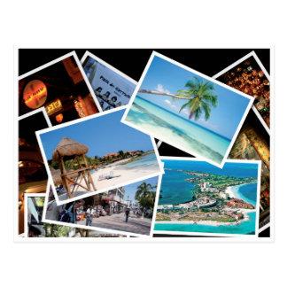 Playa del Carmen - Postal card Cartes Postales