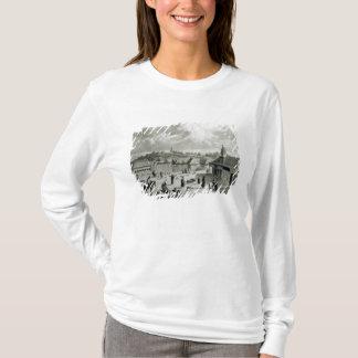 Plaza De São Carlos de Chiloe, 1835] T-shirt
