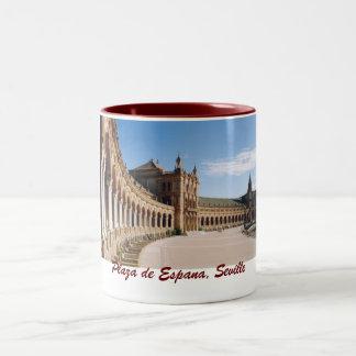 Plaze de Espana, tasse de Séville