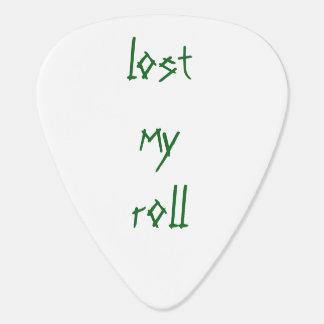 Plectre de petit pain de roche pas onglet de guitare