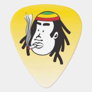 Plectre d'onglet de guitare de reggae d'homme de onglet de guitare