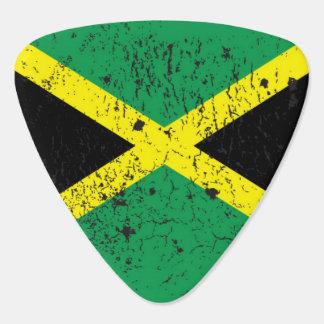 Plectre jamaïcain d'onglet de guitare de reggae de onglet de guitare