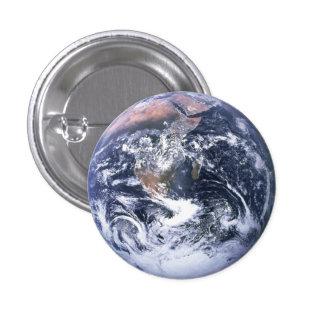 Plein bouton de la terre badge