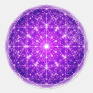 Plein mandala de De Light Adhésifs Ronds