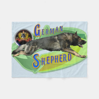 Plein pas de berger allemand