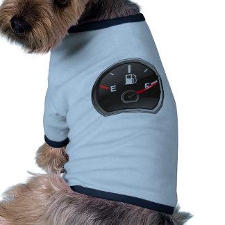 Plein réservoir de gaz tee-shirts pour animaux domestiques