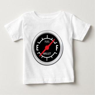 Plein réservoir, portefeuille vide t-shirts