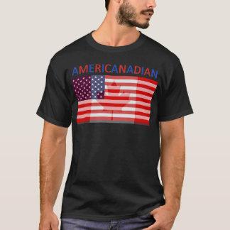 Plein tee - shirt noir d'AMERICANADIAN T-shirt