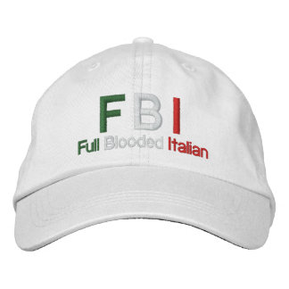 Pleine Blooded casquette de baseball blanche