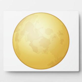 Pleine lune - Emoji Plaque Photo