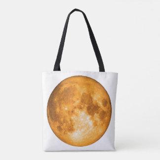 pleine lune orange sac