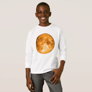 pleine lune orange t-shirt