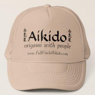 Pleins casquettes d'Aikido de cercle
