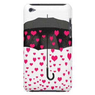 Pleuvoir des couvertures d'iPod de coeurs d'amour Coque iPod Touch