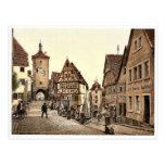 Ploenlein, Rothenburg (c.-à-d. der Tauber), Bavari Cartes Postales