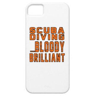 Plongée à l'air Bloody brillante iPhone 5 Case