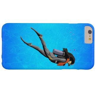 Plongée à l'air de femme coque barely there iPhone 6 plus