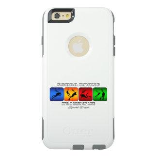 Plongée à l'air fraîche c'est un mode de vie coque OtterBox iPhone 6 et 6s plus