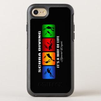 Plongée à l'air fraîche c'est un mode de vie coque otterbox symmetry pour iPhone 7