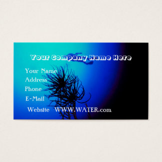 Plongée à l'air personnalisable cartes de visite