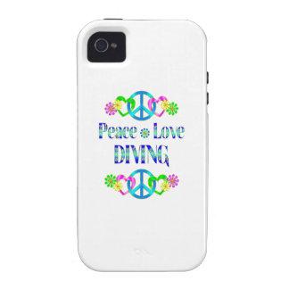 Plongée d amour de paix coque iPhone 4 vibe