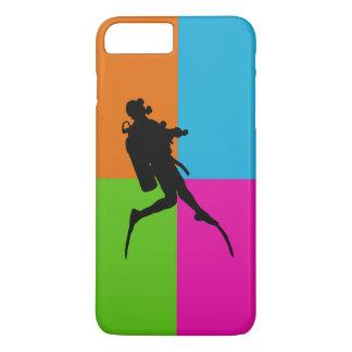 Plongée du l'amour-scaphandre I - cas de téléphone Coque iPhone 7 Plus