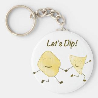 Plongeons ! porte-clés