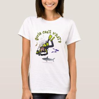 Plongeur autonome féminin léger t-shirt