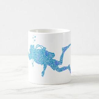 Plongeur autonome mug