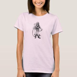 Plongeur de la marine des femmes de MKV T-shirt