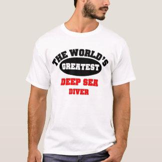 Plongeur de mer profonde t-shirt