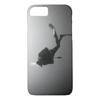 Plongeur Noir & Blanc Coque iPhone 7