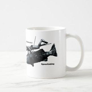 Plongeur sous-marin vintage de Freediving Mug