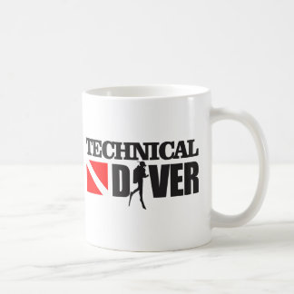 Plongeur technique 2 mug