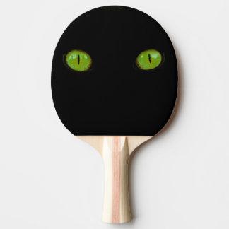 Plots réflectorisés verts - palette de ping-pong raquette tennis de table