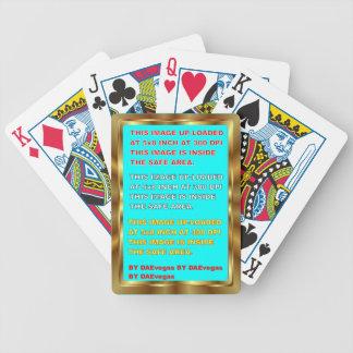 Plse de notes de vue de couleur du modèle 30 de cartes de poker