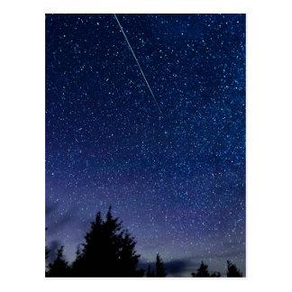 Pluie de météores de Perseid Carte Postale