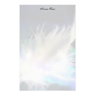 Plume d'ange ! papier à lettre customisable
