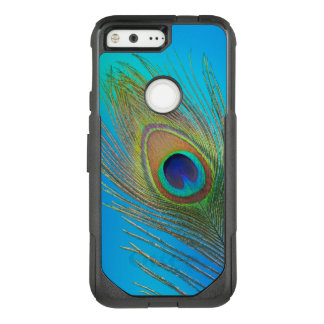 Plume de queue de paon coque google pixel par OtterBox commuter