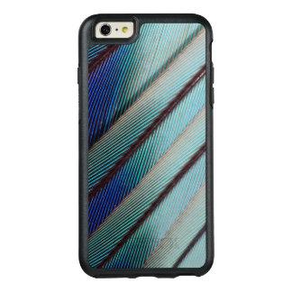 Plume lilas bleue de rouleau de Breasted Coque OtterBox iPhone 6 Et 6s Plus