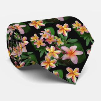 Plumeria Cravates Customisées