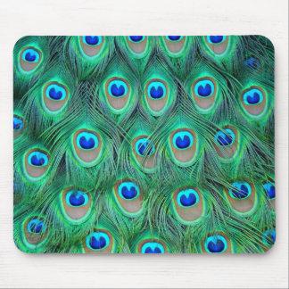 plumes de paon tapis de souris
