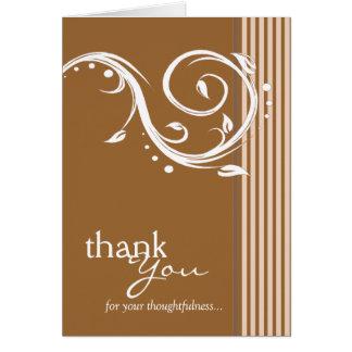 {PLUS COLORE DISPONIBLE} carte de remerciements